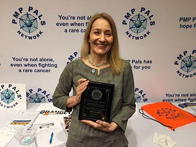 Adele Jasion PMP Pals Award Gilmore Jasion Mahler