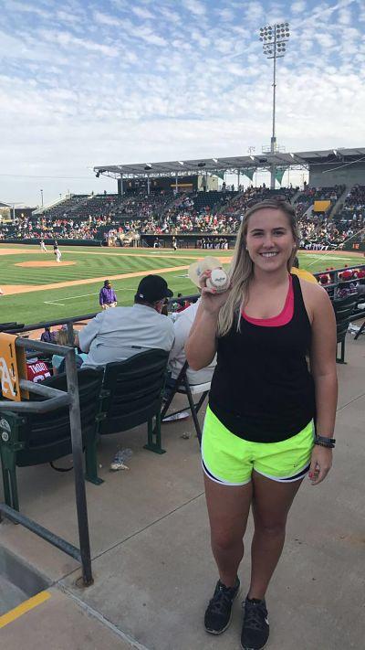 Jessica Knepper baseball
