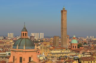 scenic view of Bologna, Italy