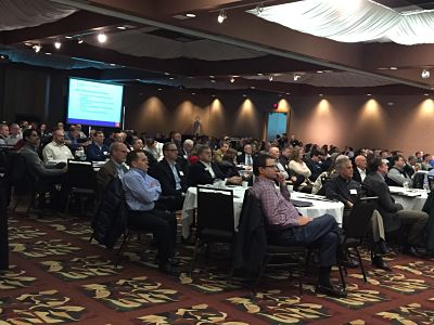 crowd of over 300 people at GJM tax education event