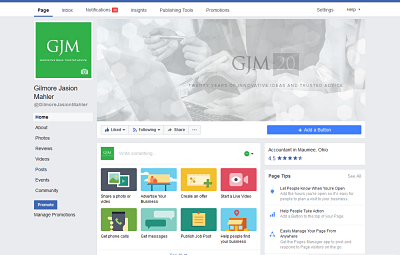 GJM Facebook page